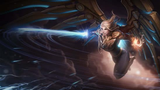 league of legends kayle aether wing uhd 4k wallpaper