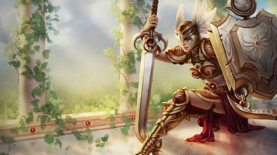 league of legends leona valkyrie uhd 4k wallpaper