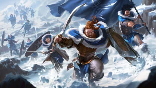 legends of runeterra avarosan heartguard uhd 4k wallpaper