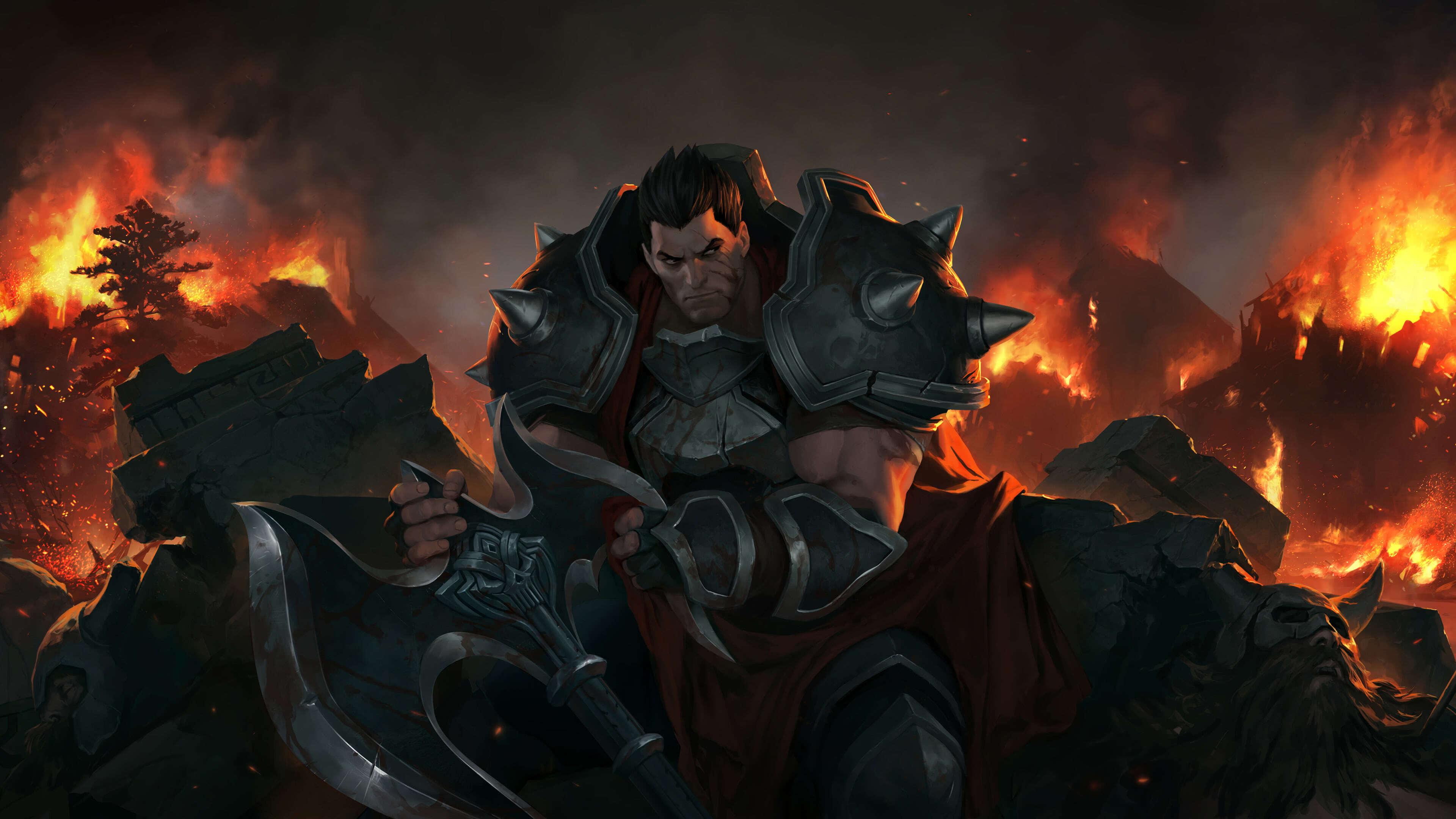 Legends Of Runeterra Darius Uhd 4k Wallpaper Pixelz