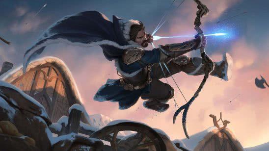legends of runeterra icevale archer uhd 4k wallpaper