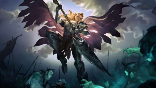 legends of runeterra radiant guardian uhd 4k wallpaper