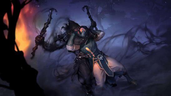 legends of runeterra ren shadowblade uhd 4k wallpaper