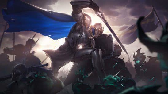 legends of runeterra vanguard defender uhd 4k wallpaper