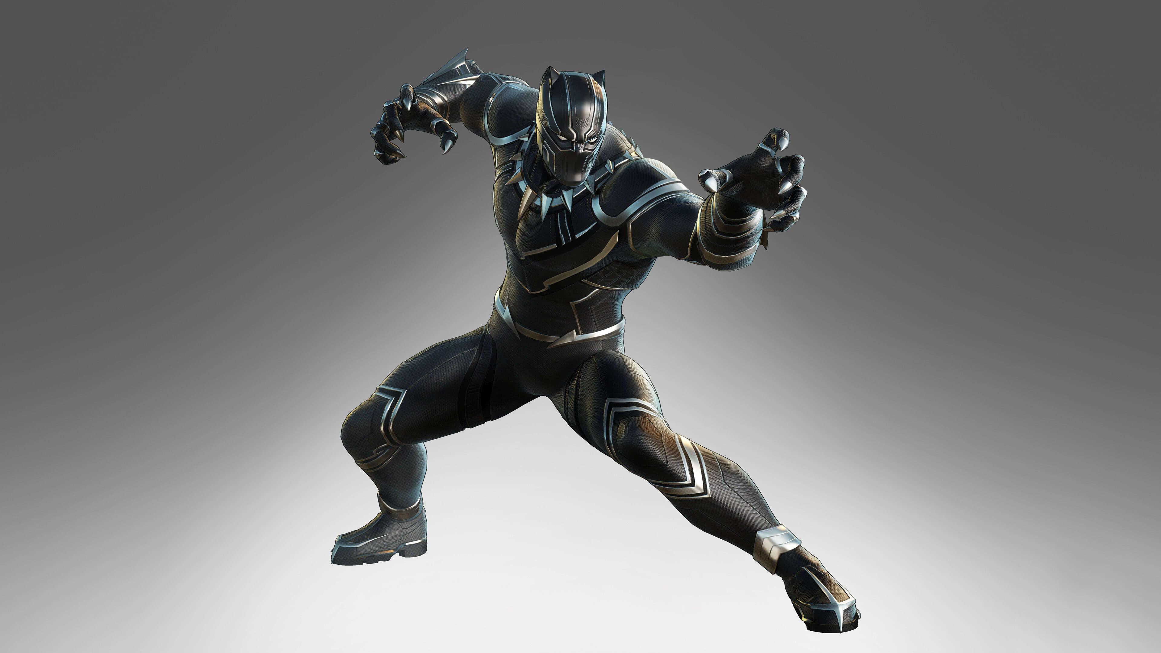 marvel ultimate alliance 3 black panther uhd 4k wallpaper