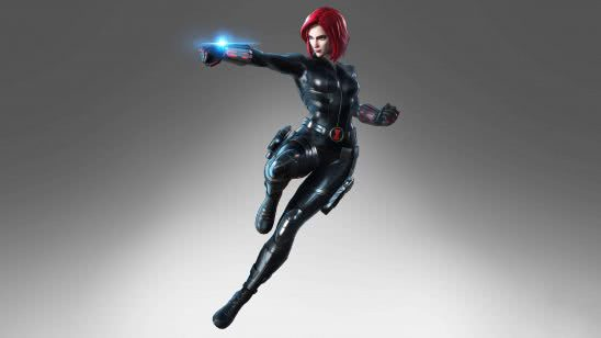 marvel ultimate alliance 3 black widow uhd 4k wallpaper