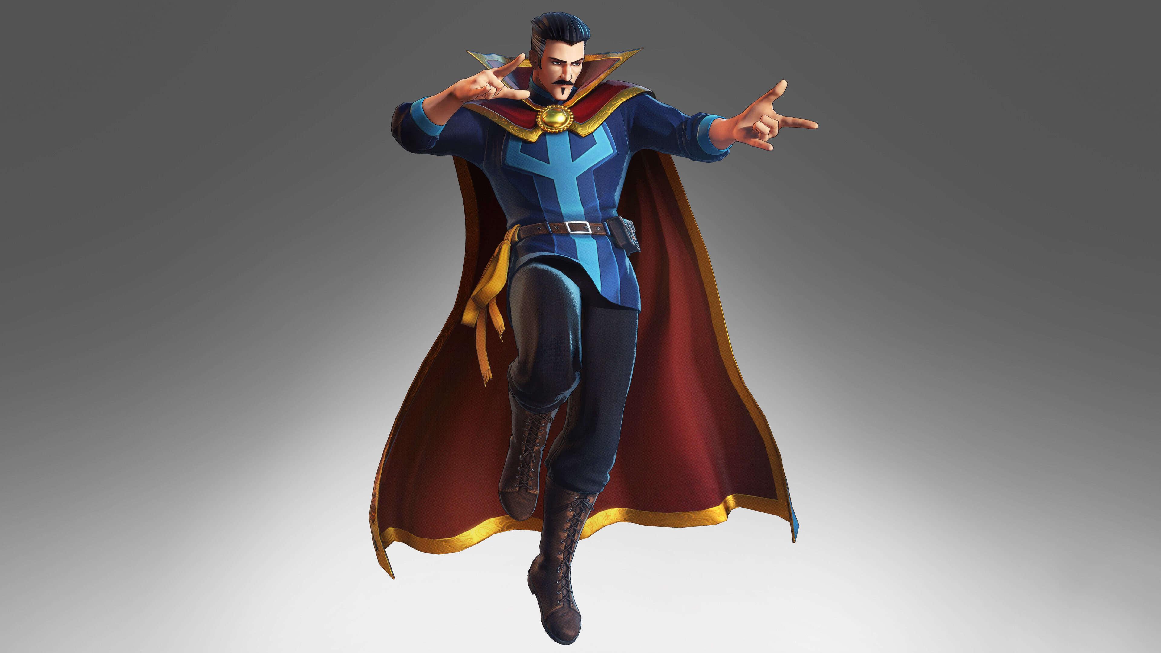 marvel ultimate alliance 3 doctor strange uhd 4k wallpaper