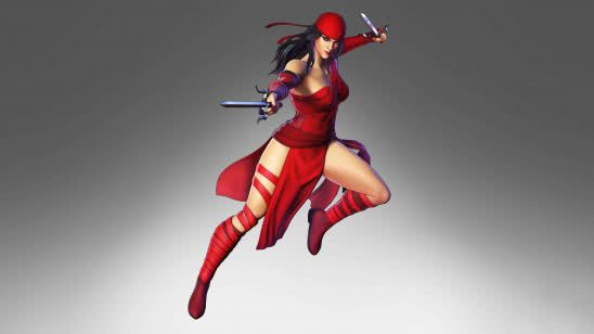 marvel ultimate alliance 3 elektra uhd 4k wallpaper