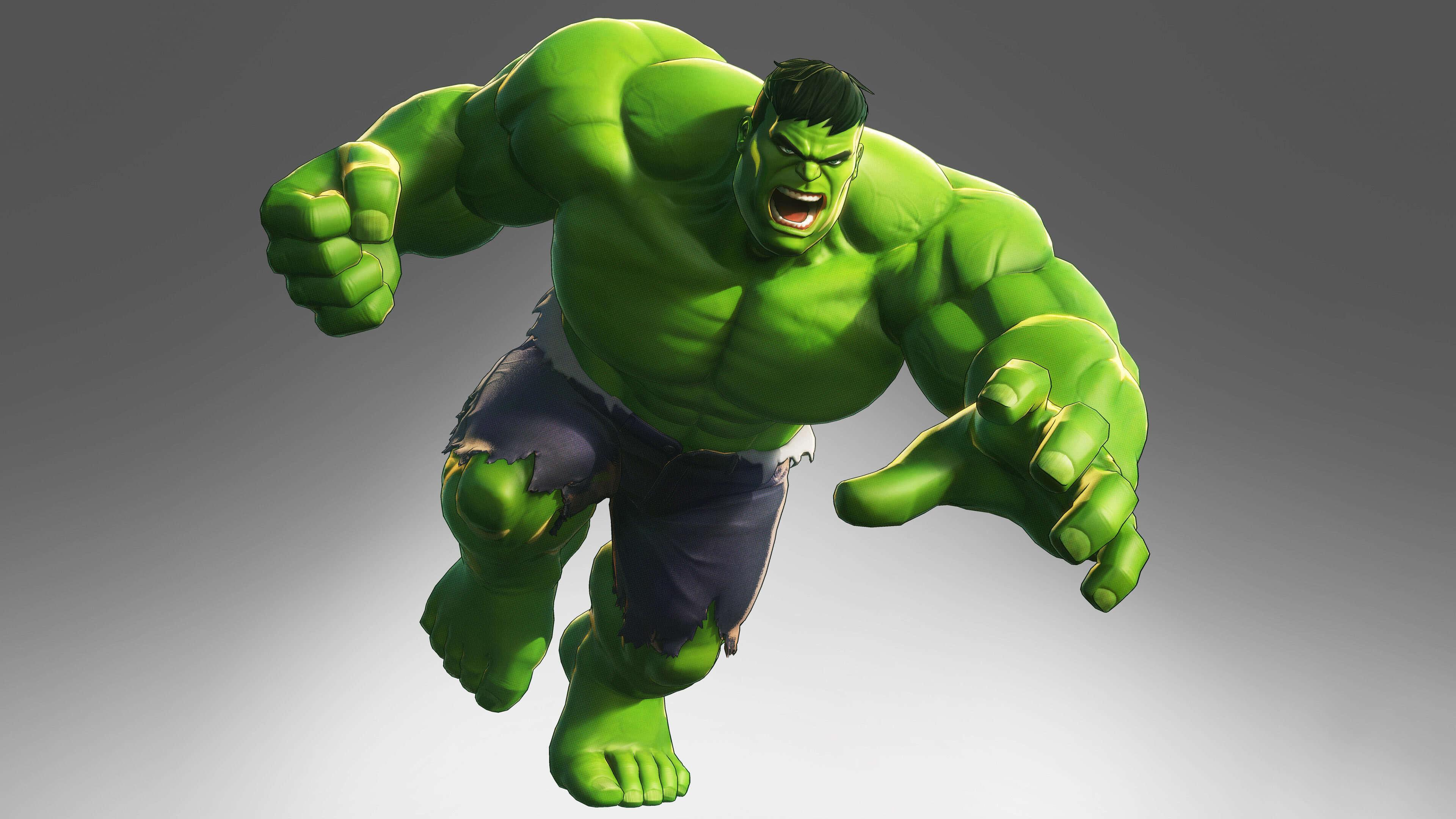 marvel ultimate alliance 3 hulk uhd 4k wallpaper