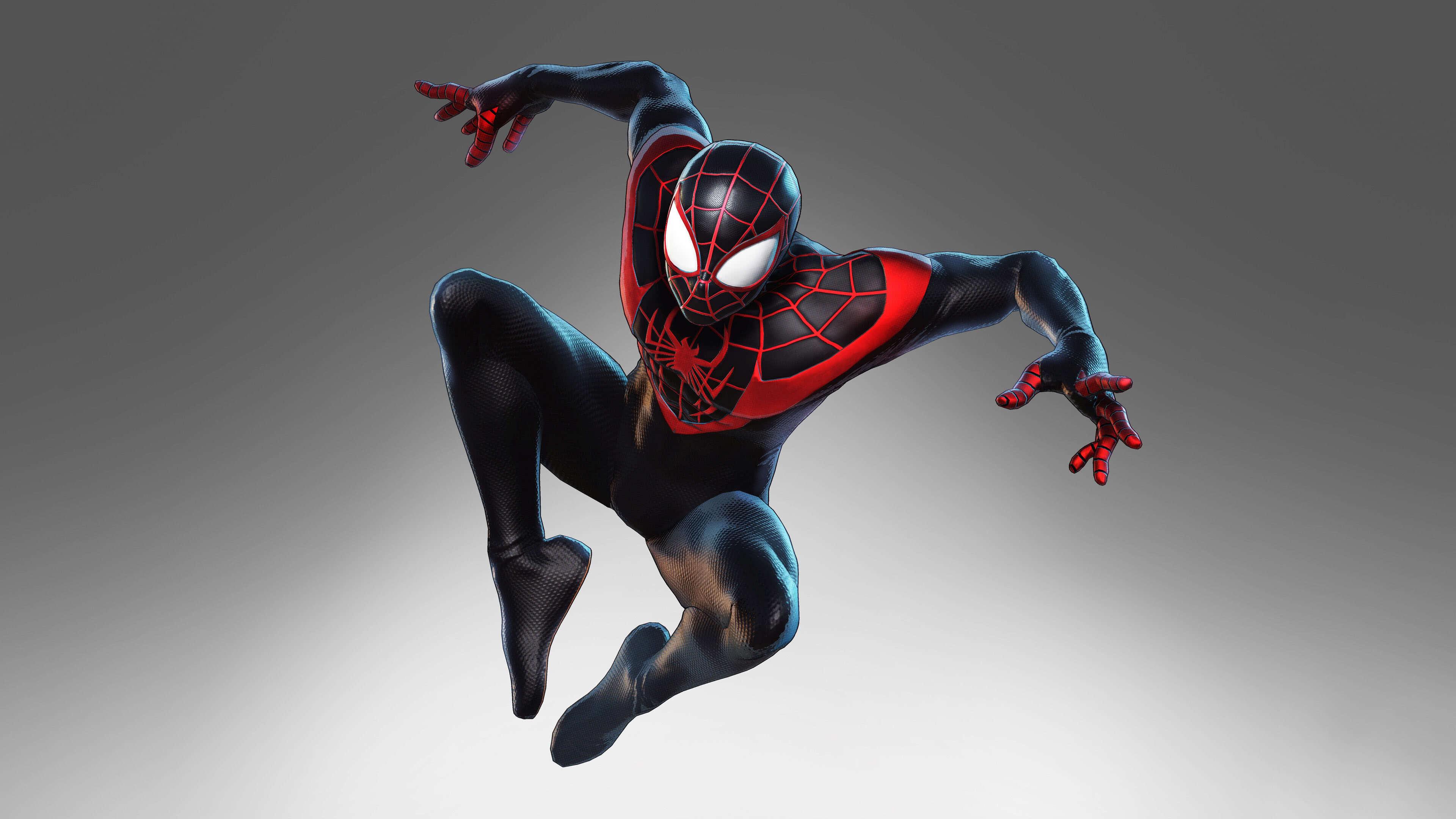 Marvel Ultimate Alliance 3 Miles Morales Spiderman Uhd 4k