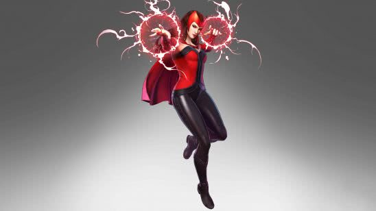 marvel ultimate alliance 3 scarlet witch uhd 4k wallpaper