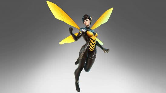 marvel ultimate alliance 3 wasp uhd 4k wallpaper