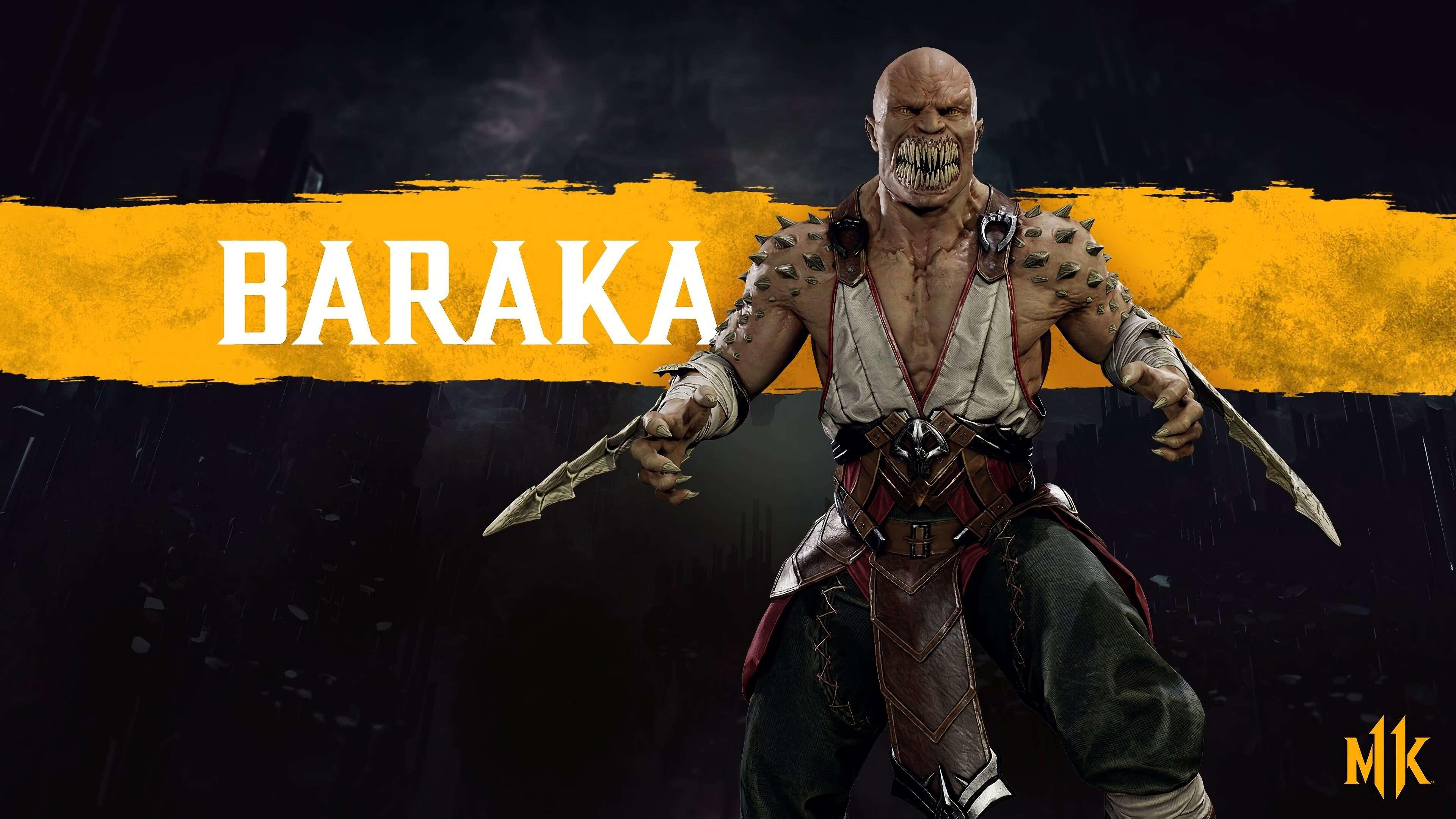 Mortal Kombat 11 Baraka Uhd 4k Wallpaper Pixelz