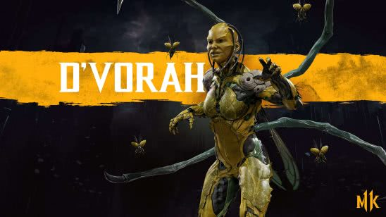 mortal kombat 11 dvorah uhd 4k wallpaper