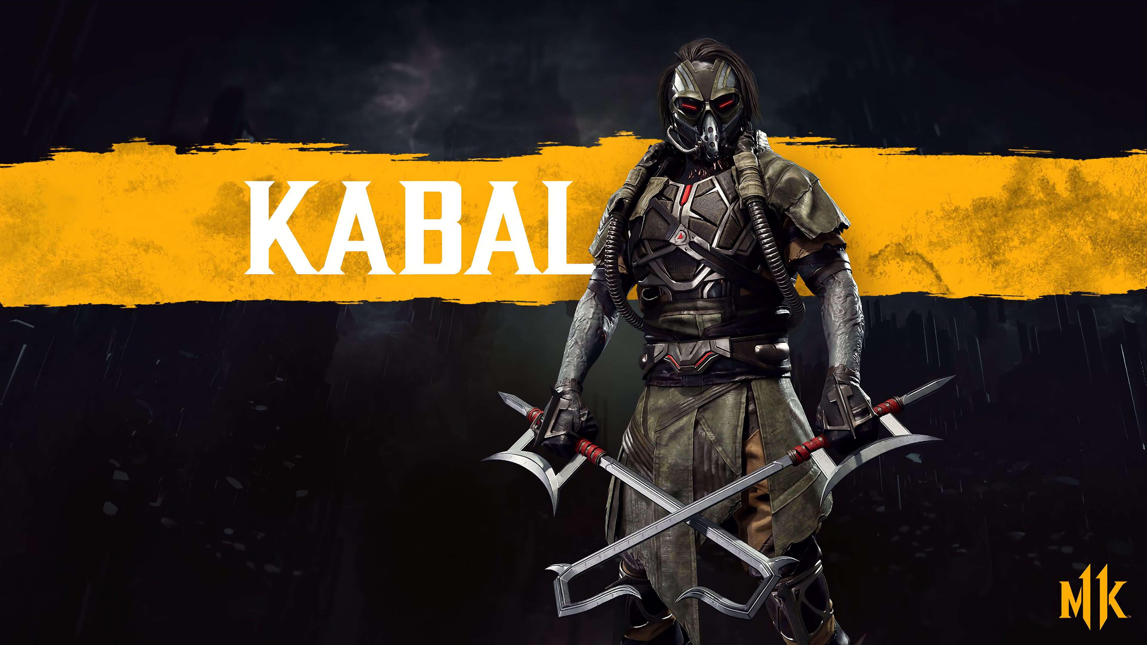 mortal kombat 11 kabal uhd 4k wallpaper