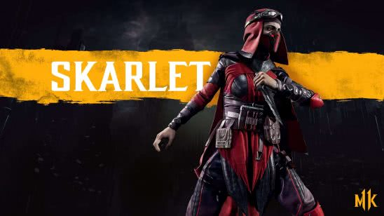 mortal kombat 11 skarlet uhd 4k wallpaper