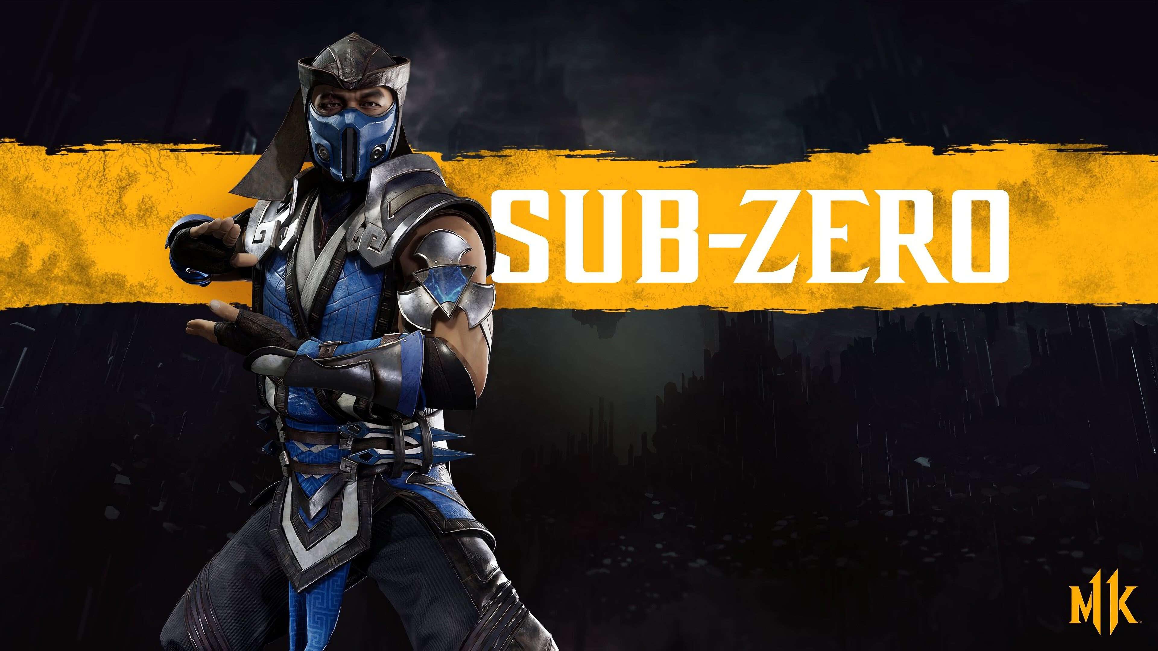 Mortal Kombat 11 Sub Zero Uhd 4k Wallpaper Pixelz