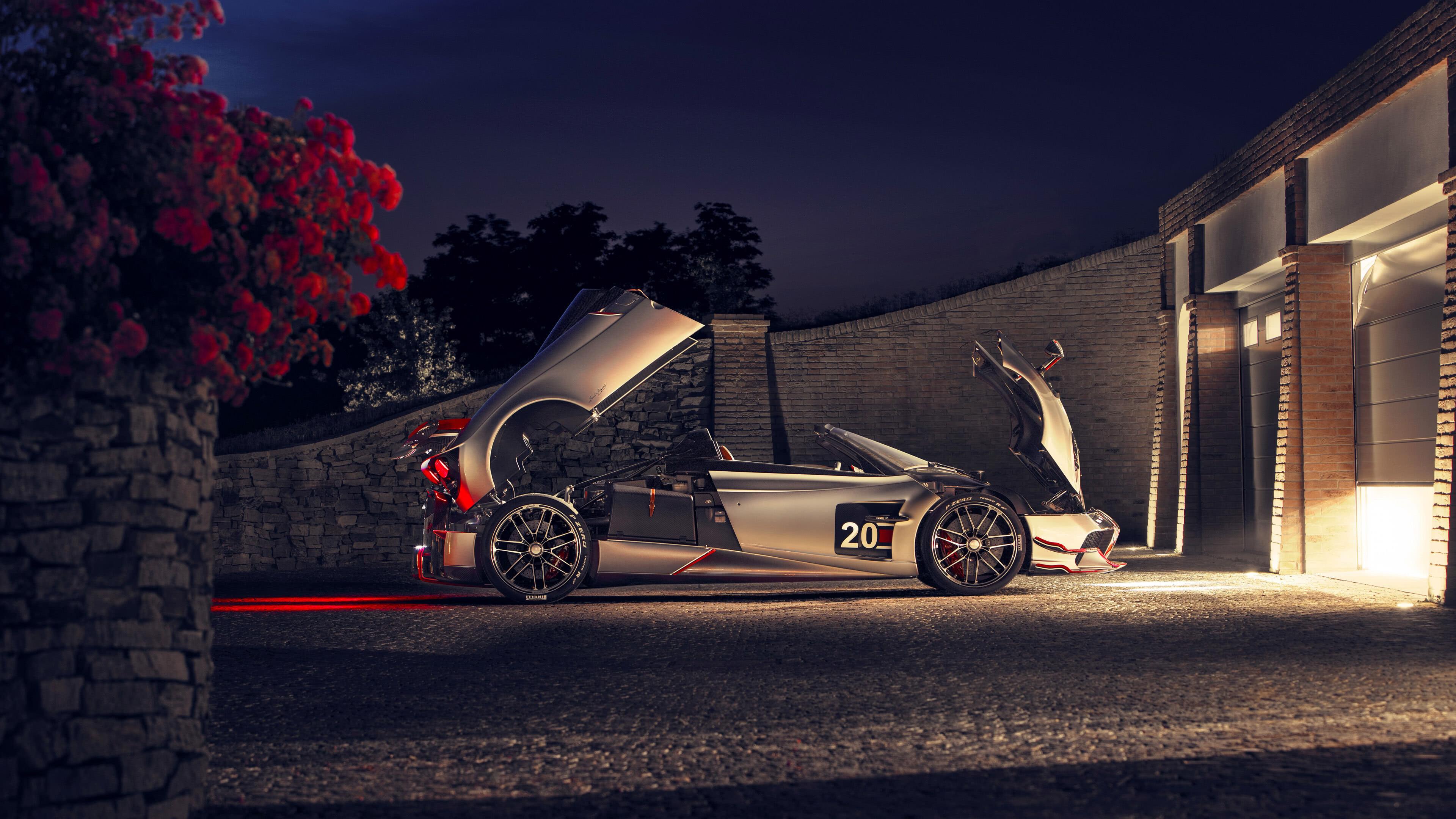 pagani huayra roadster bc side uhd 4k wallpaper