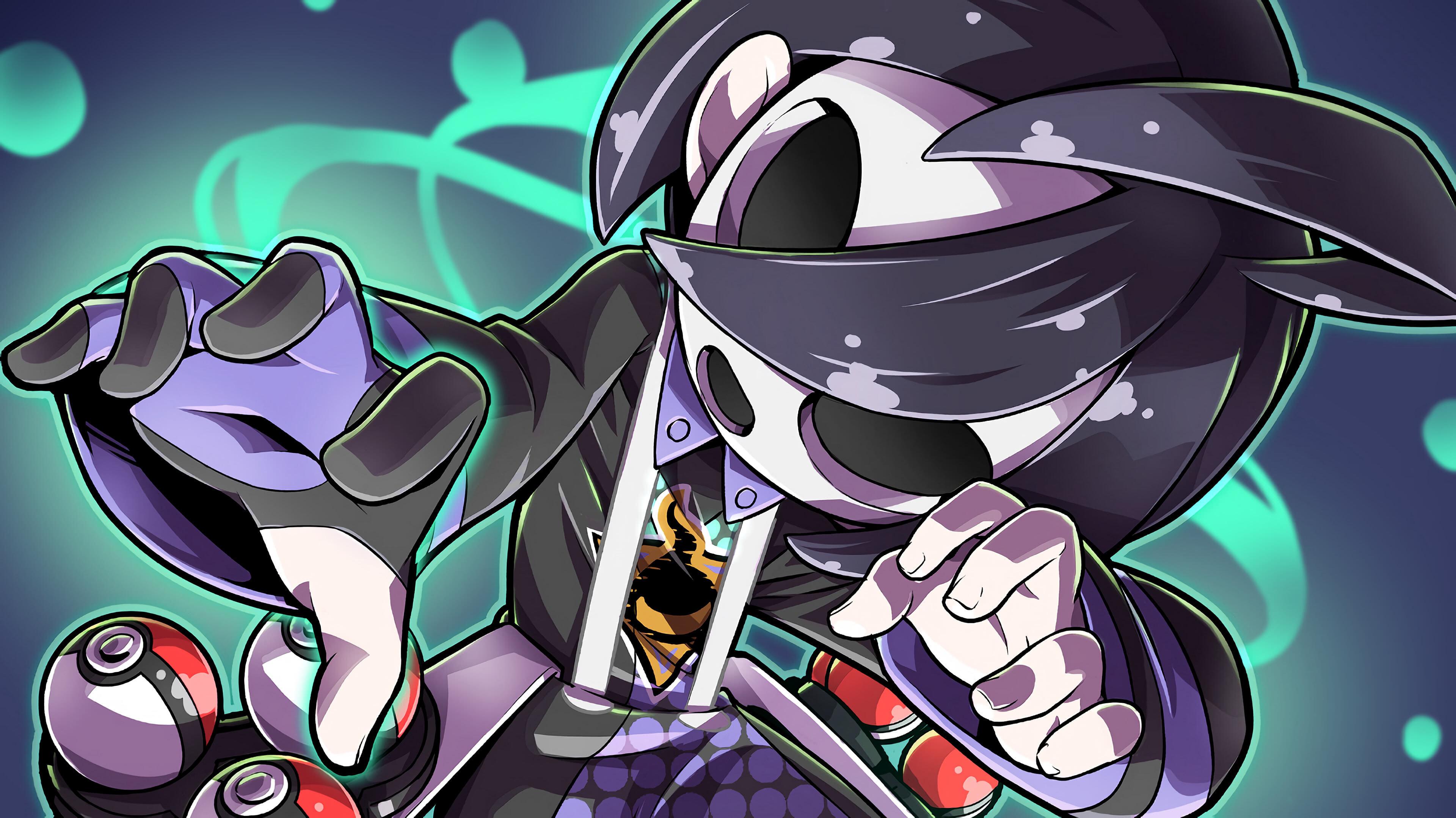 pokemon sword and shield allister gym leader uhd 4k wallpaper