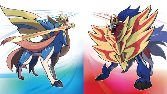 pokemon sword and shield zacian and zamazenta uhd 4k wallpaper