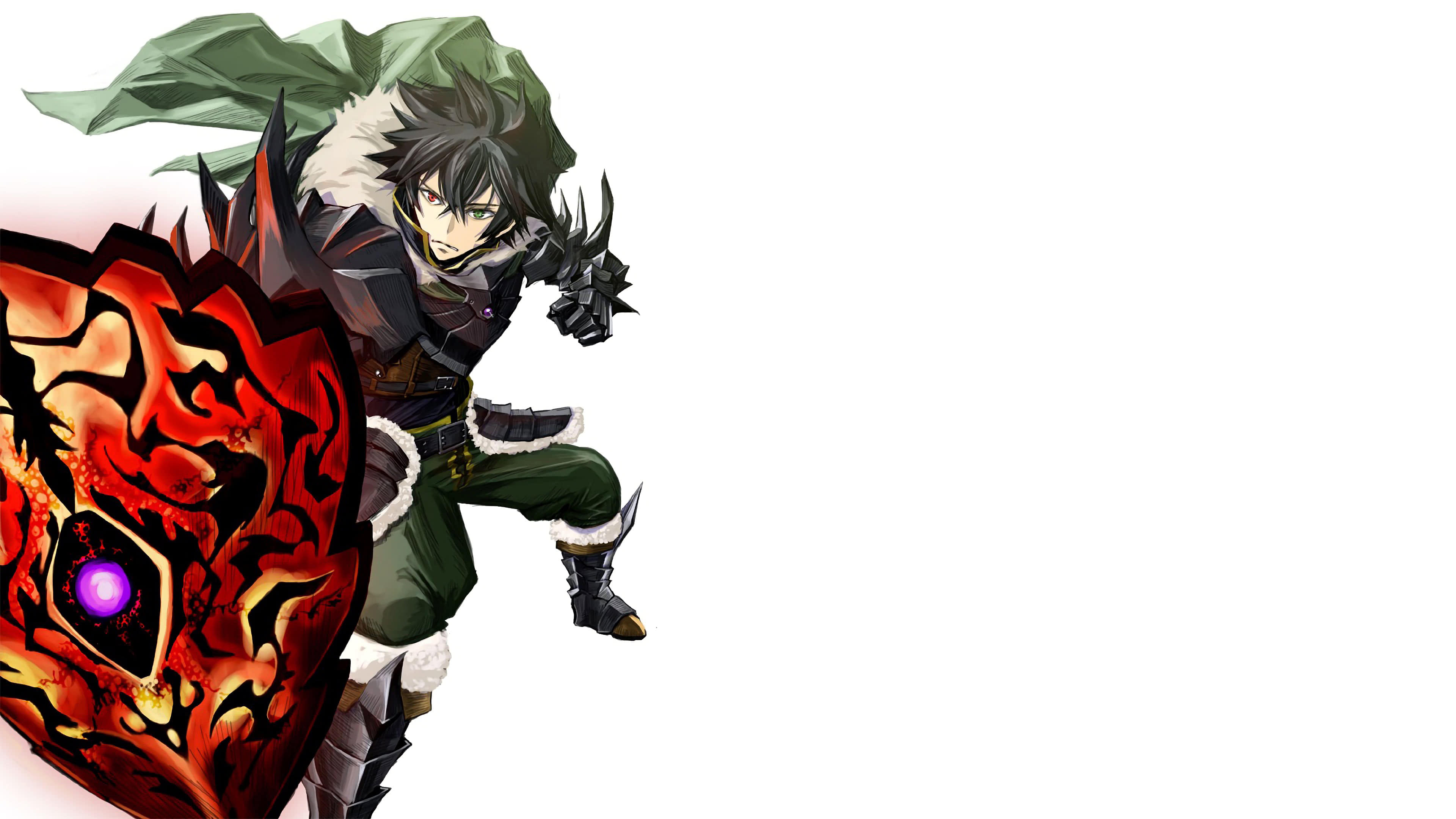 The Rising Of The Shield Hero Naofumi Iwatani Curse Shield Uhd 4k