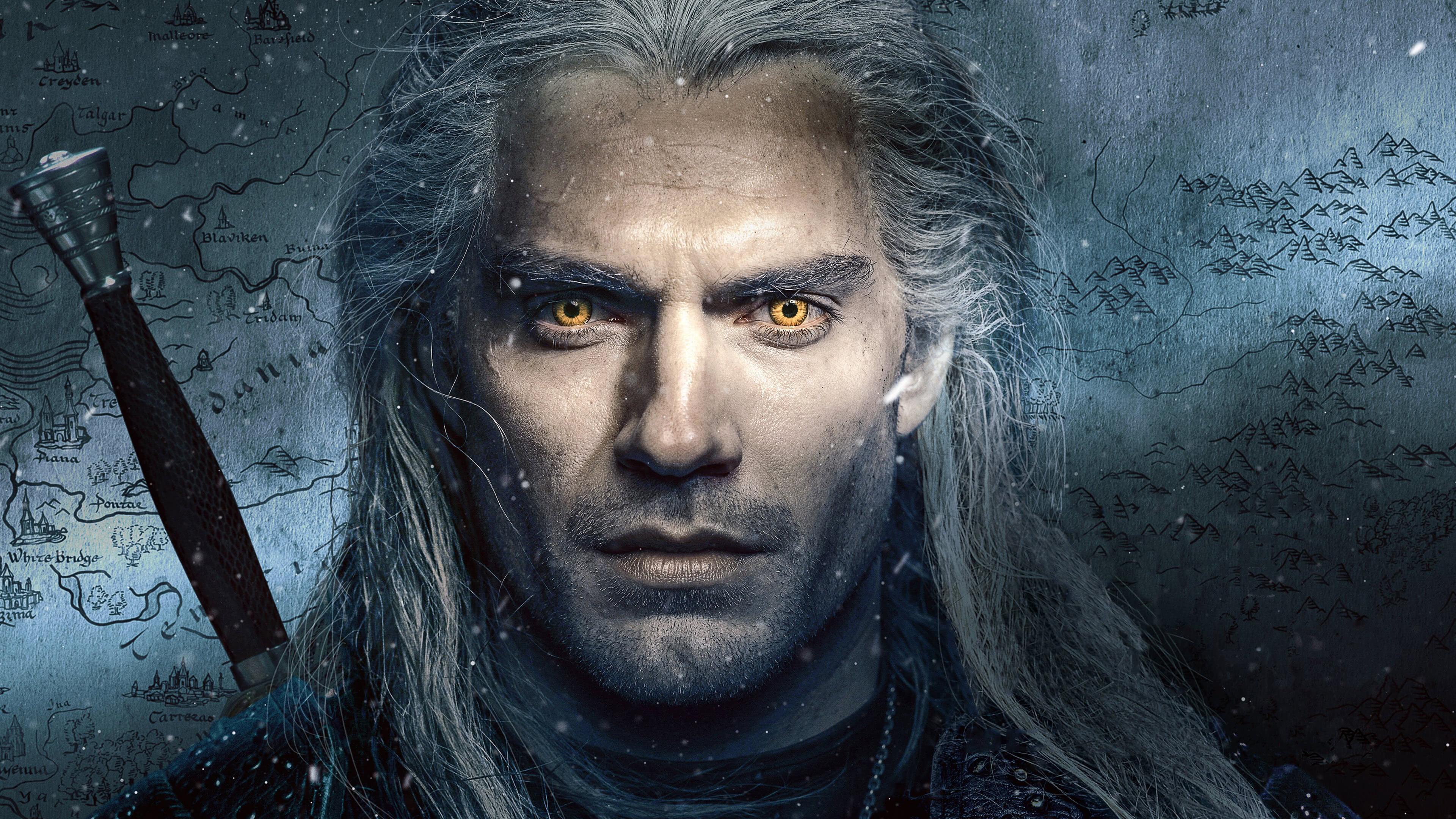 The Witcher Netflix Henry Cavill Portrait Uhd 4k Wallpaper Pixelz