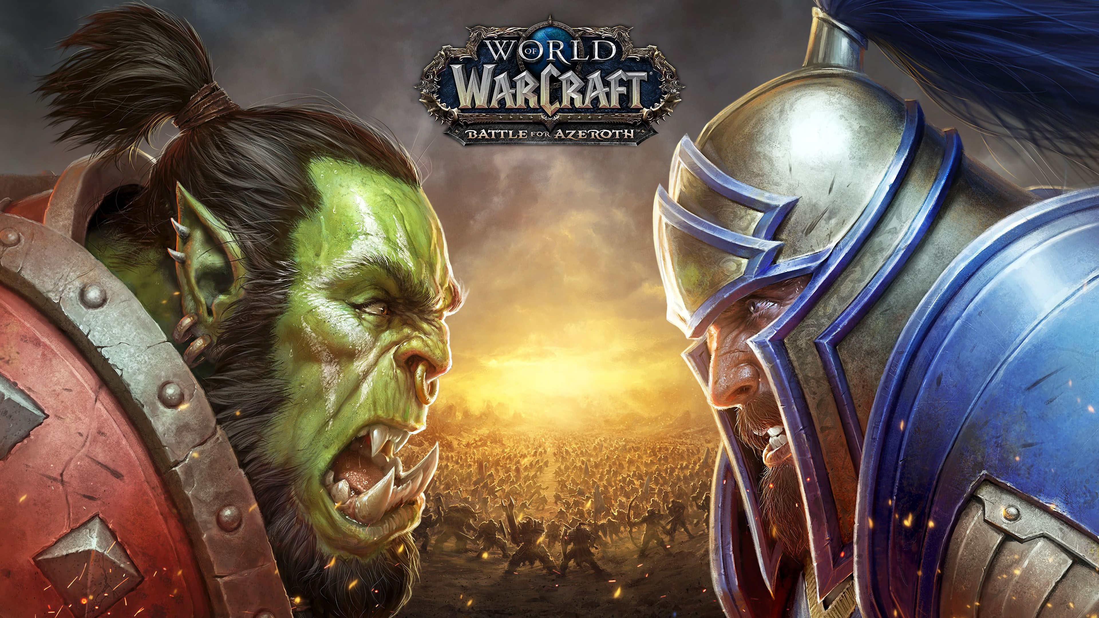 World Of Warcraft Battle For Azeroth Horde Vs Alliance Uhd 4k