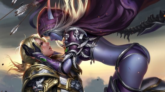 world of warcraft battle for azeroth sylvanas windrunner anduin wrynn uhd 4k wallpaper