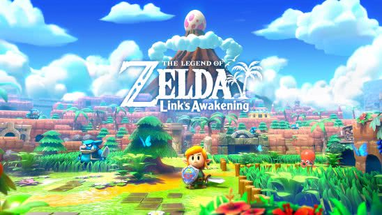 zelda links awakening cover uhd 4k wallpaper