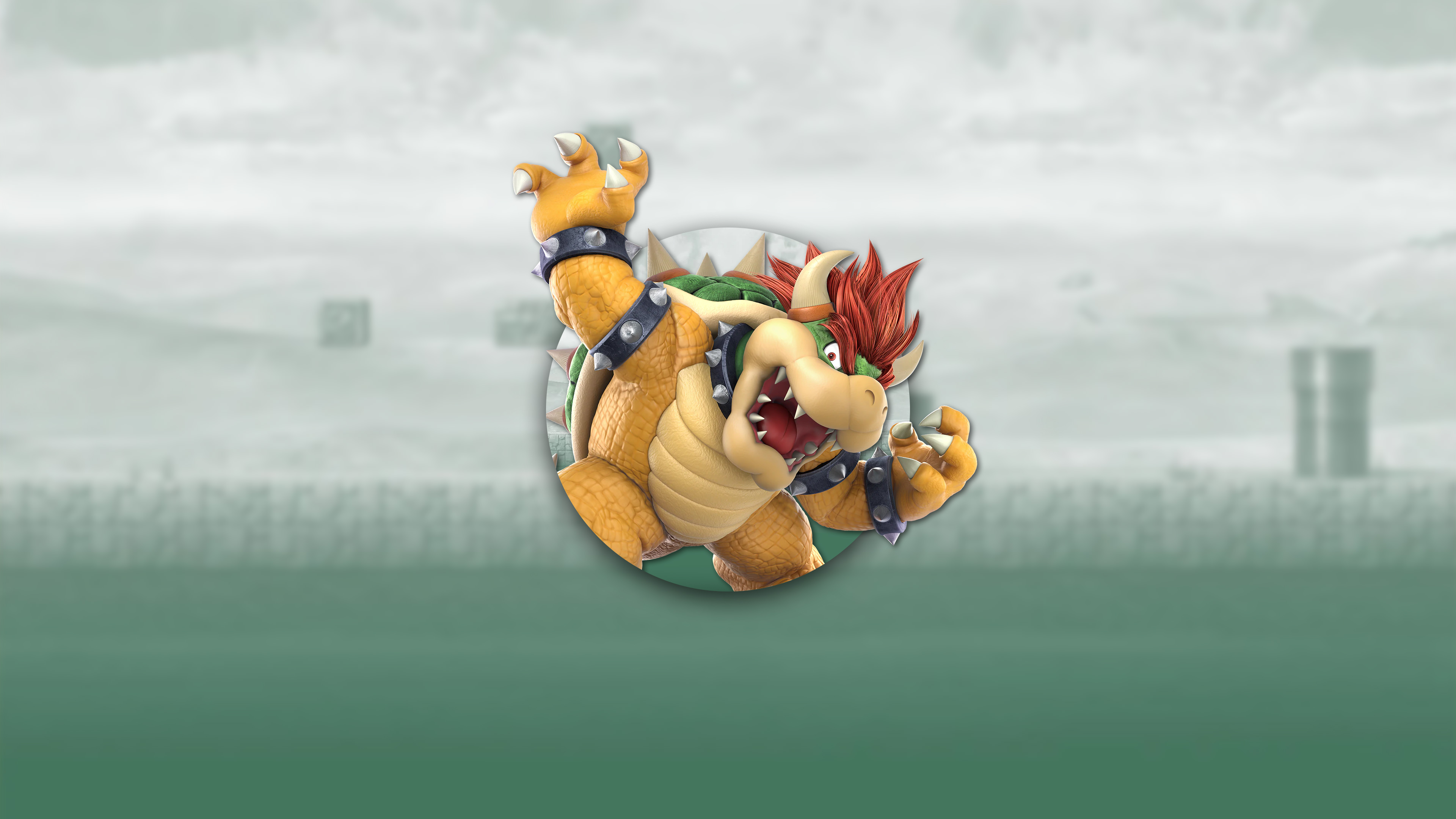 super smash bros ultimate bowser uhd 4k wallpaper