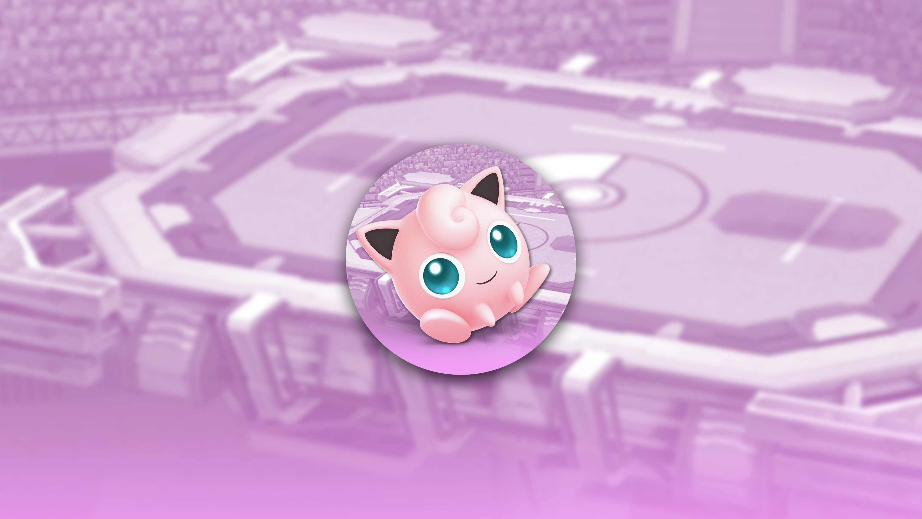 super smash bros ultimate jigglypuff uhd 4k wallpaper