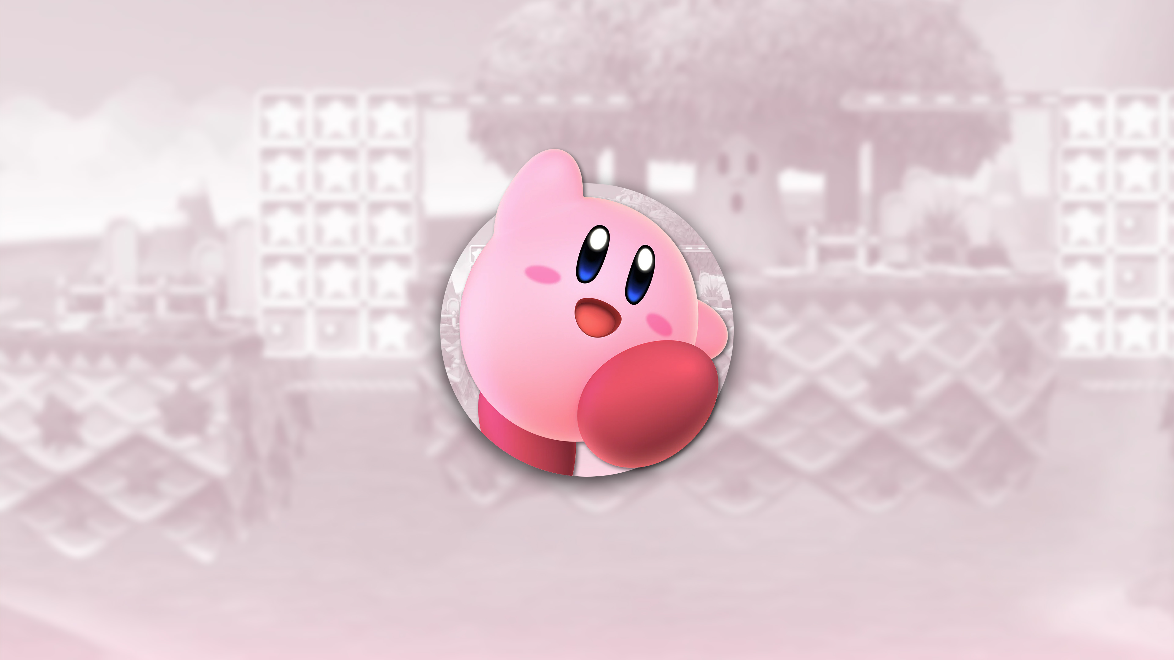 super smash bros ultimate kirby uhd 4k wallpaper