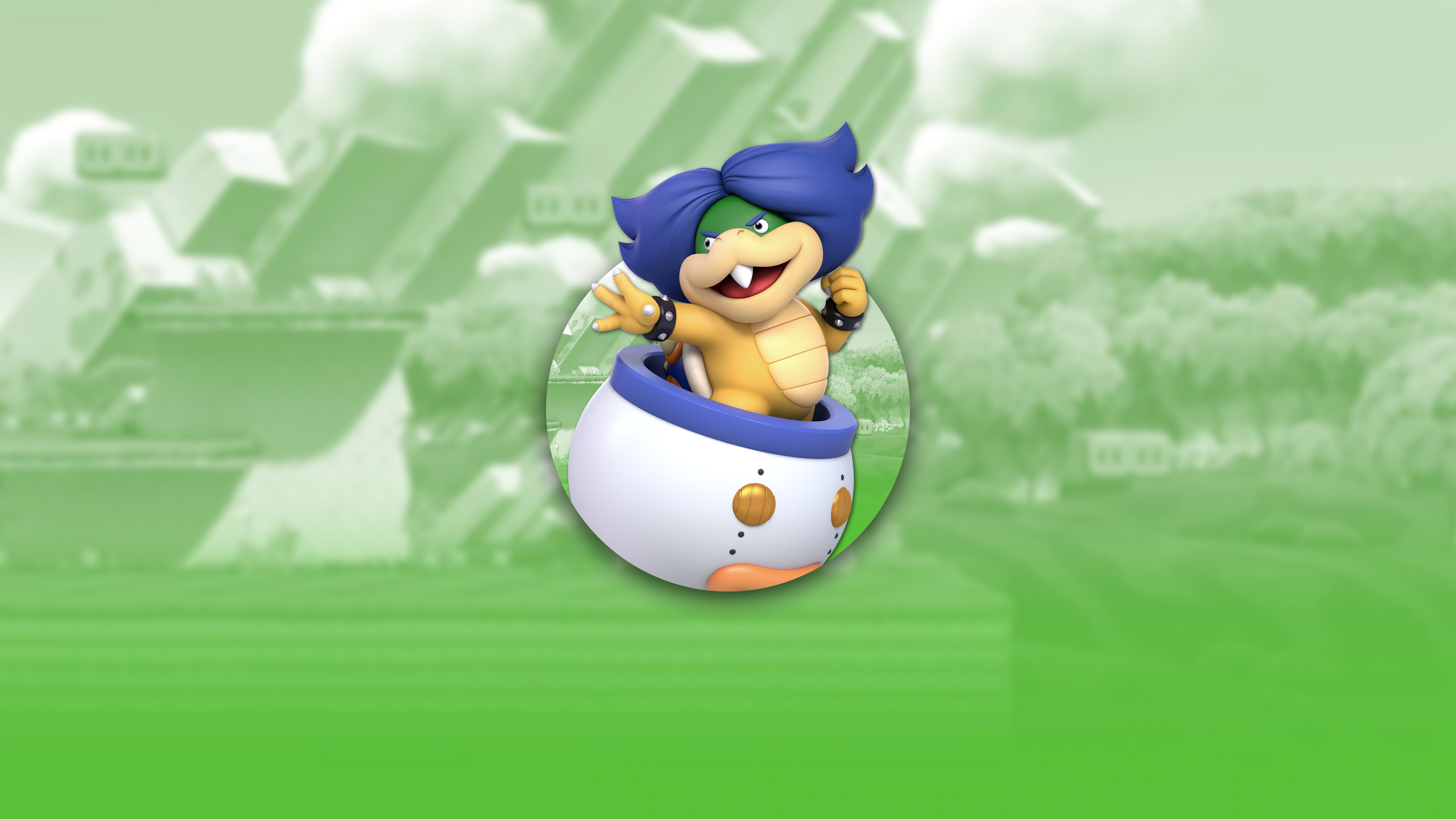 super smash bros ultimate koopalings ludwig von koopa uhd 4k wallpaper