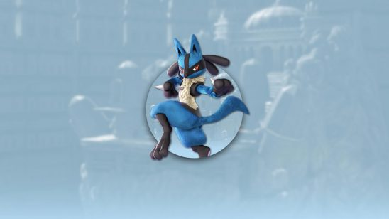 super smash bros ultimate lucario uhd 4k wallpaper