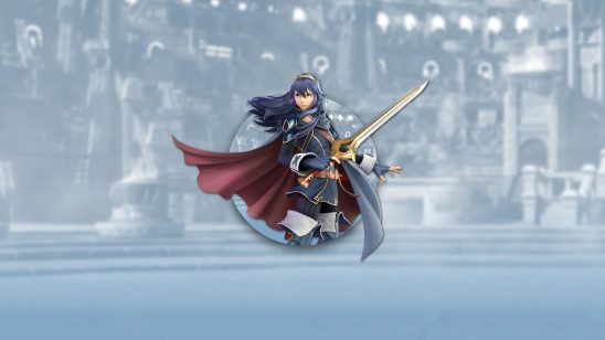 super smash bros ultimate lucina uhd 4k wallpaper
