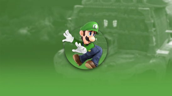 super smash bros ultimate luigi uhd 4k wallpaper