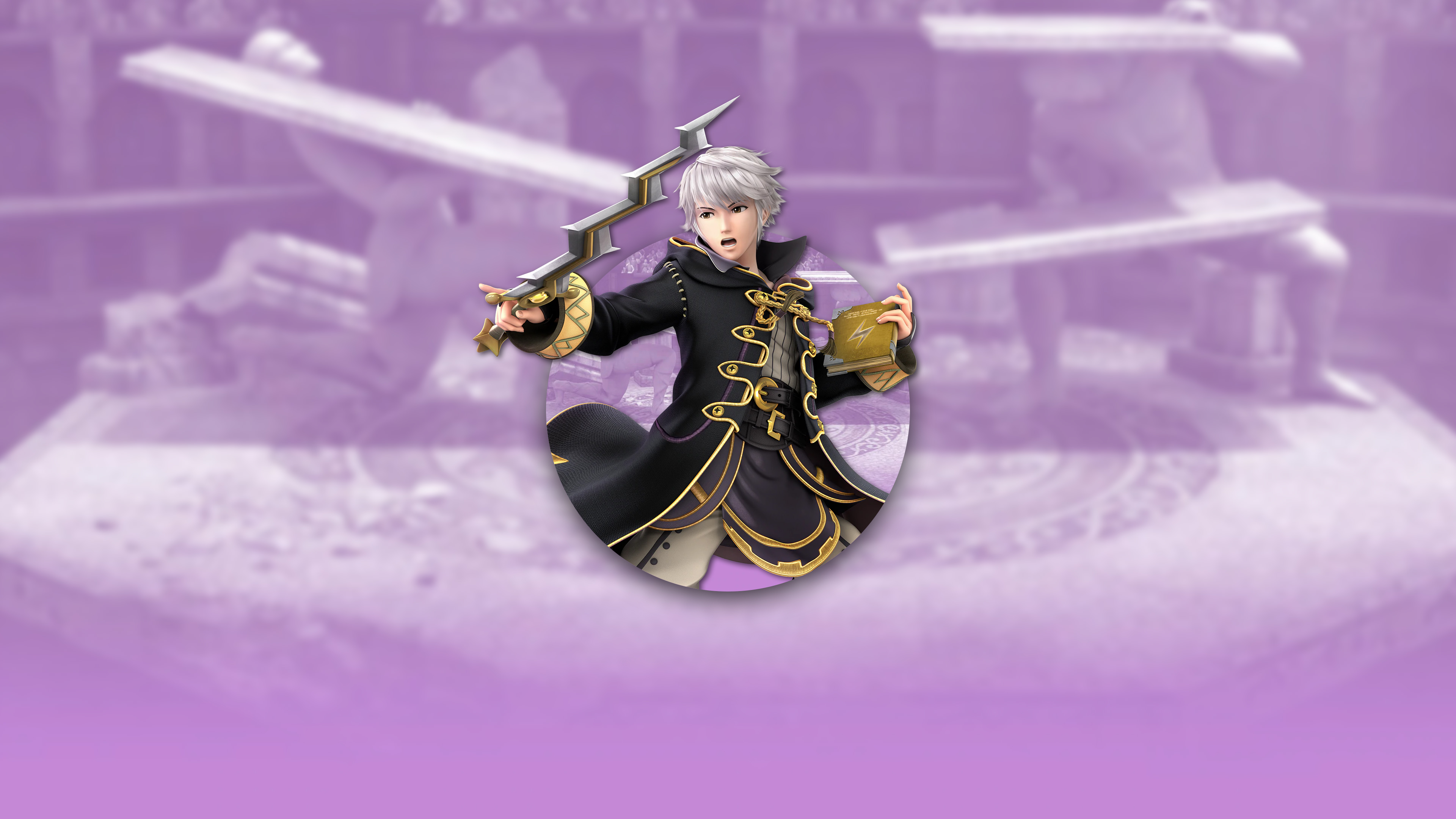 super smash bros ultimate robin male uhd 4k wallpaper