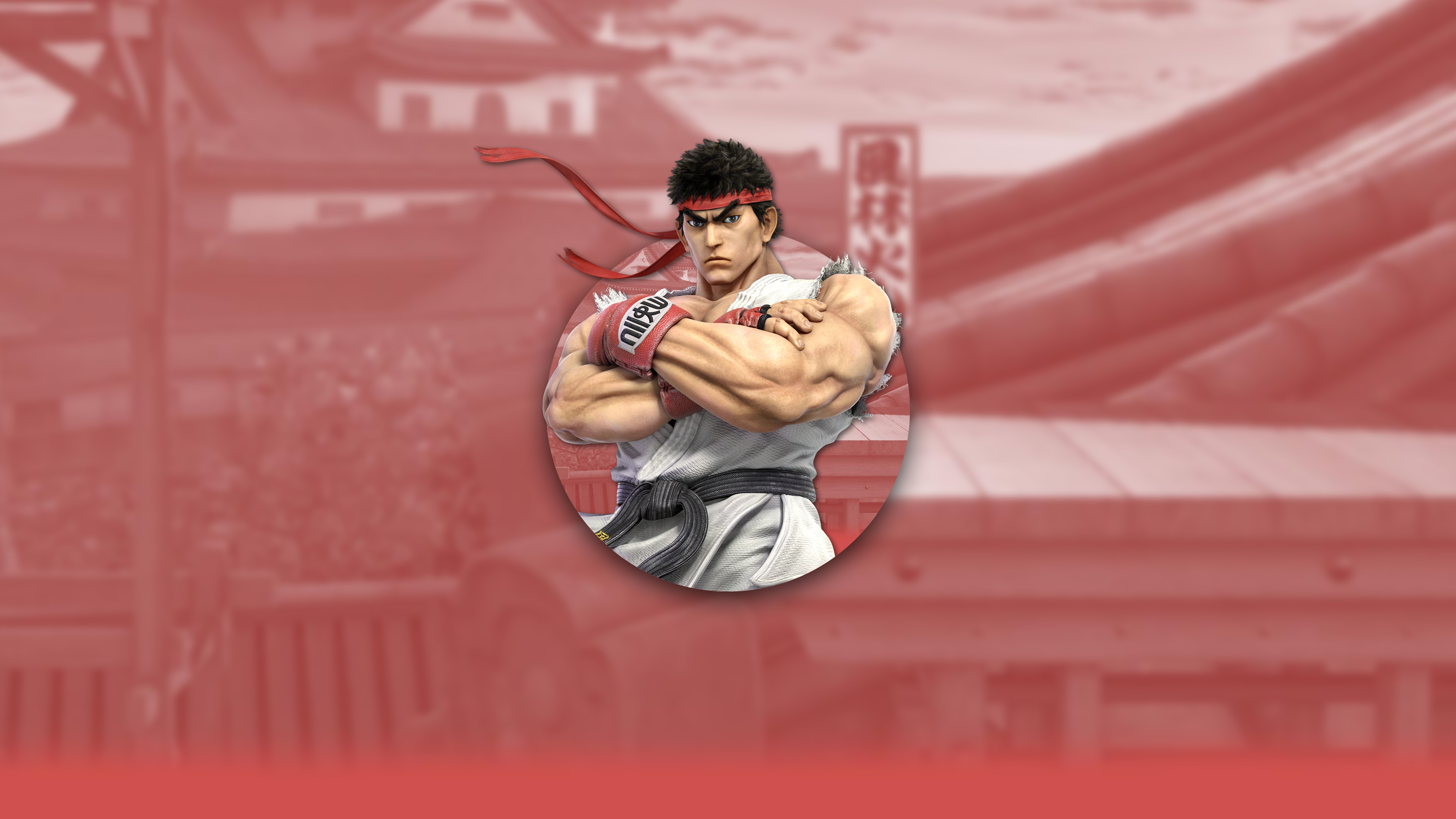 super smash bros ultimate ryu uhd 4k wallpaper