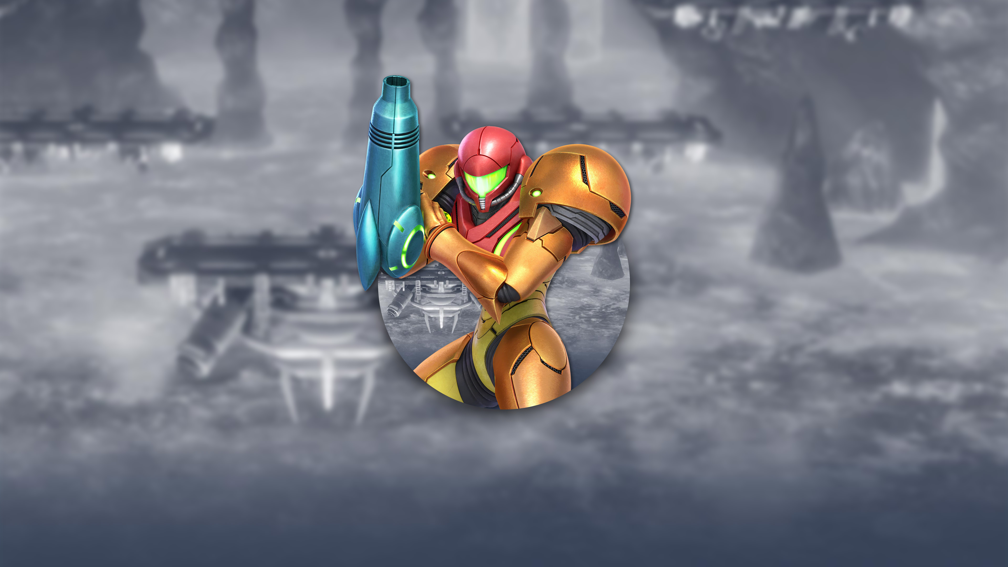 super smash bros ultimate samus uhd 4k wallpaper