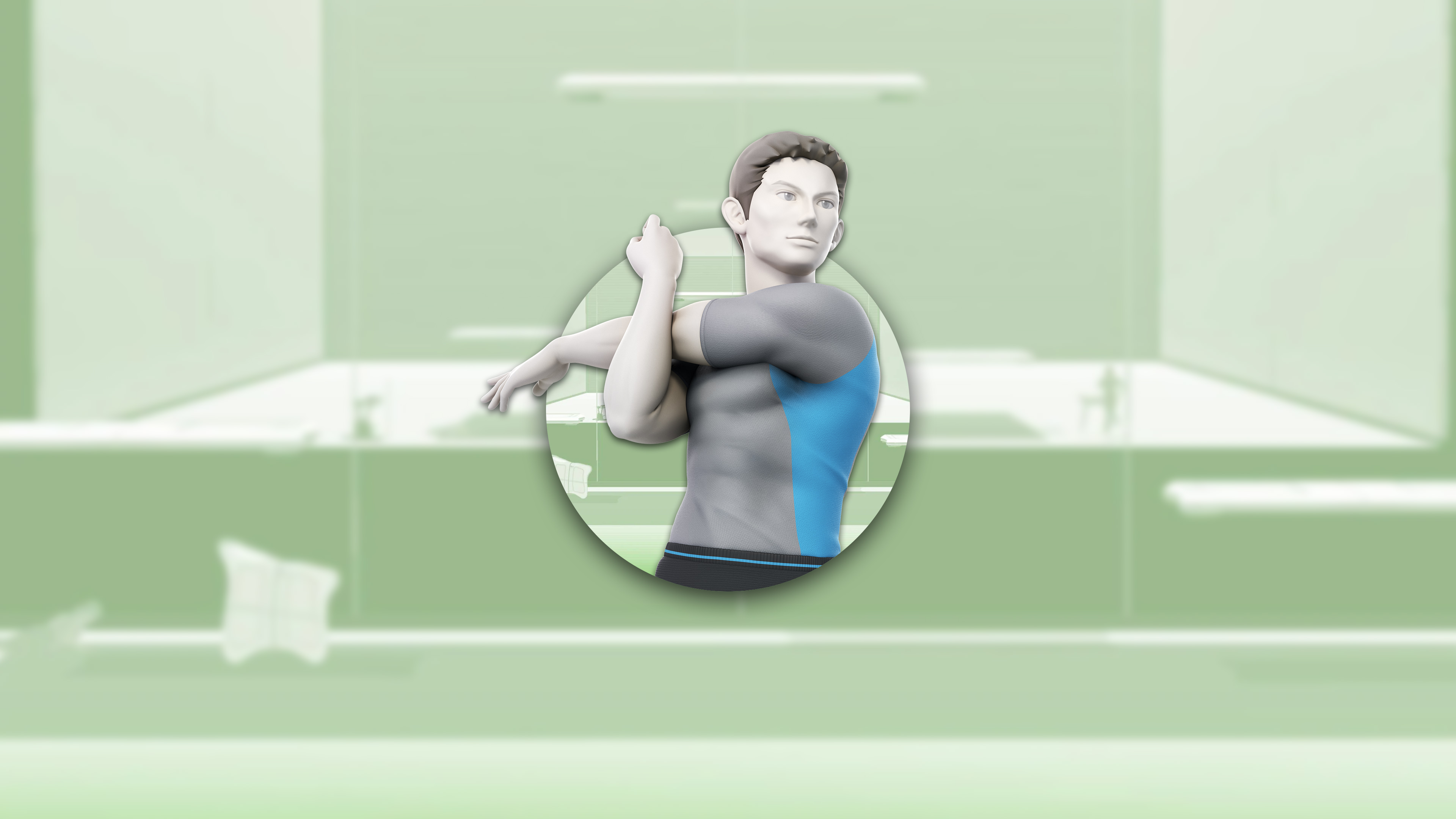 super smash bros ultimate wii fit trainer male uhd 4k wallpaper