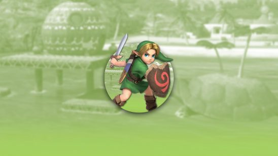 super smash bros ultimate young link uhd 4k wallpaper