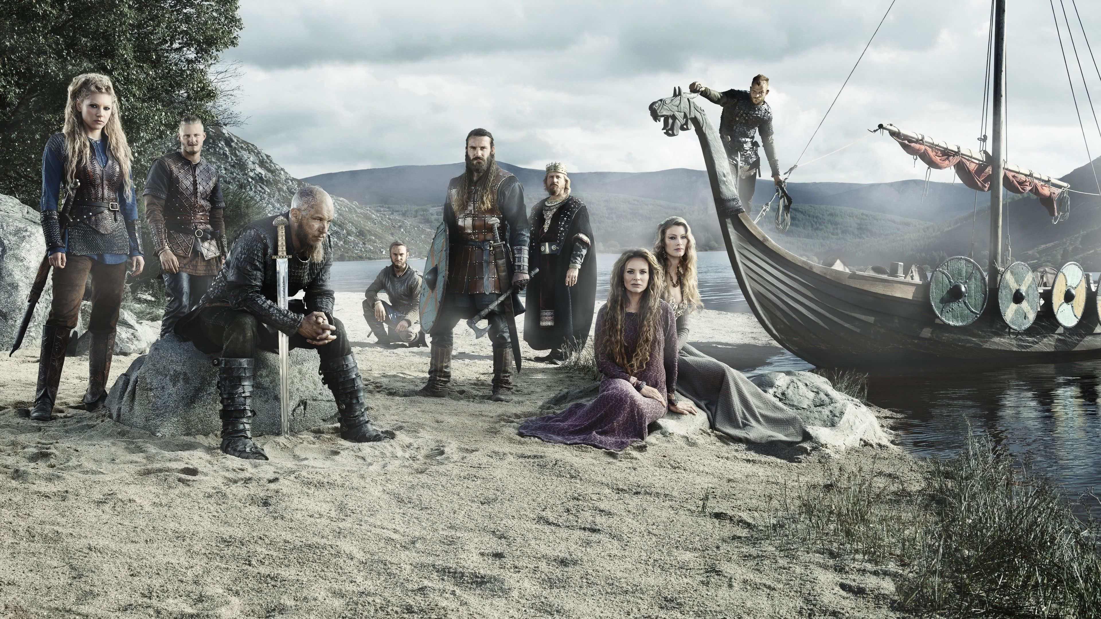 Vikings Characters UHD 4K Wallpaper | Pixelz