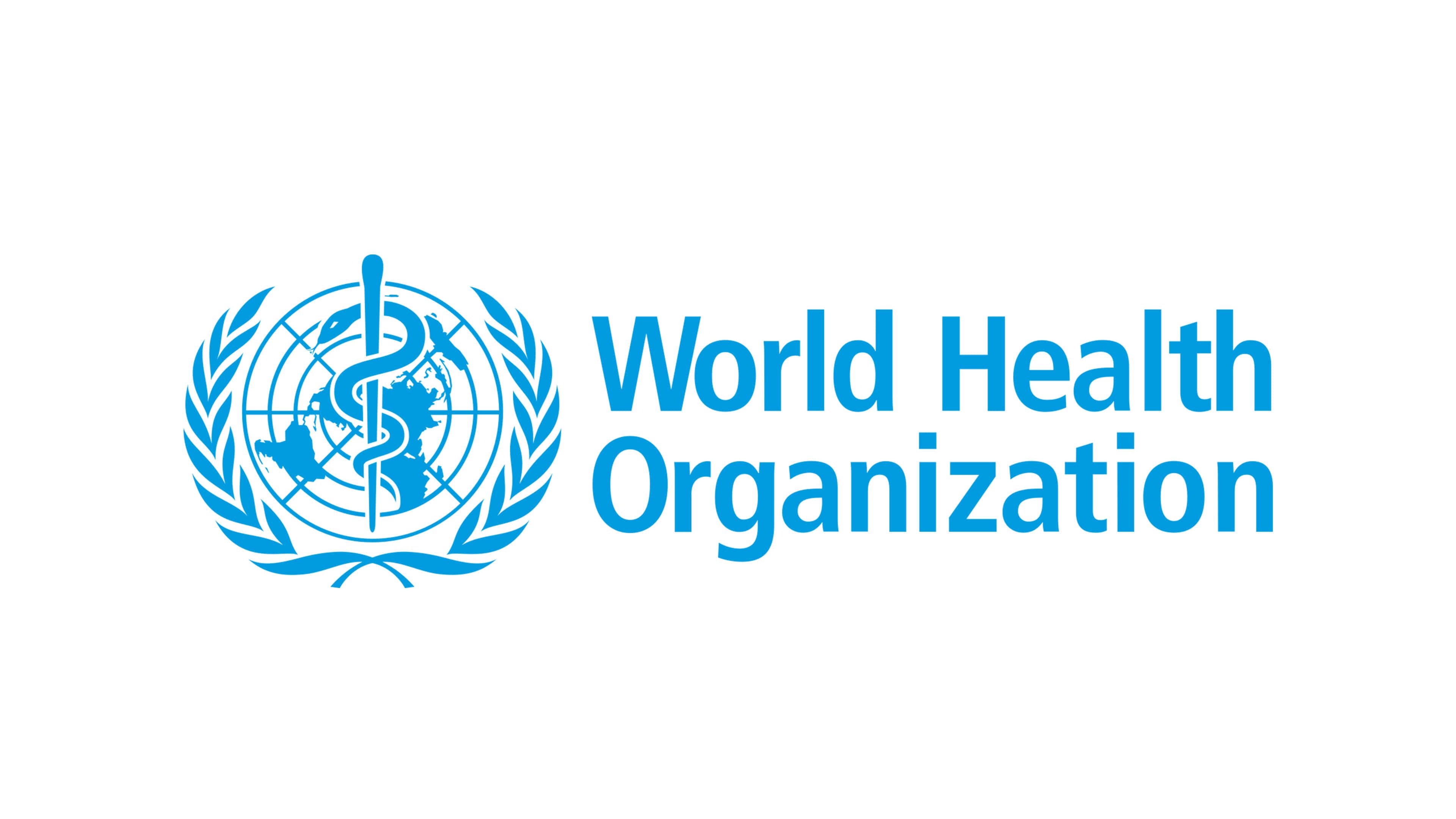 world health organization who logo uhd 4k wallpaper