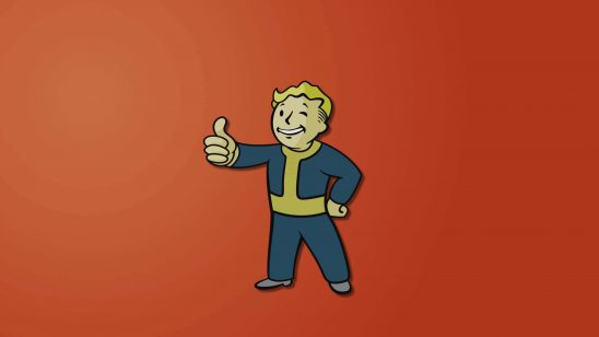fallout vault boy red uhd 4k wallpaper