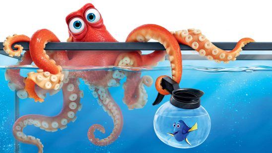 finding dory hank octopus uhd 4k wallpaper