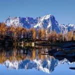 mont blanc autumn uhd 4k wallpaper