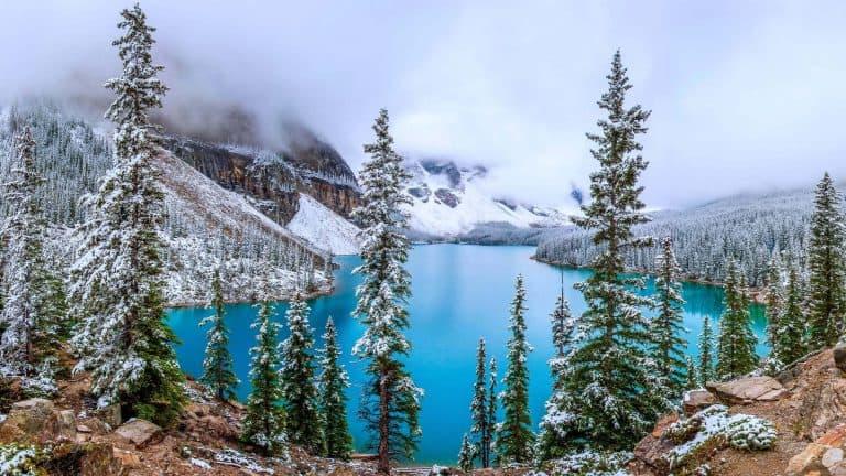 Moraine Lake Banff Canada Uhd 4k Wallpaper Pixelz