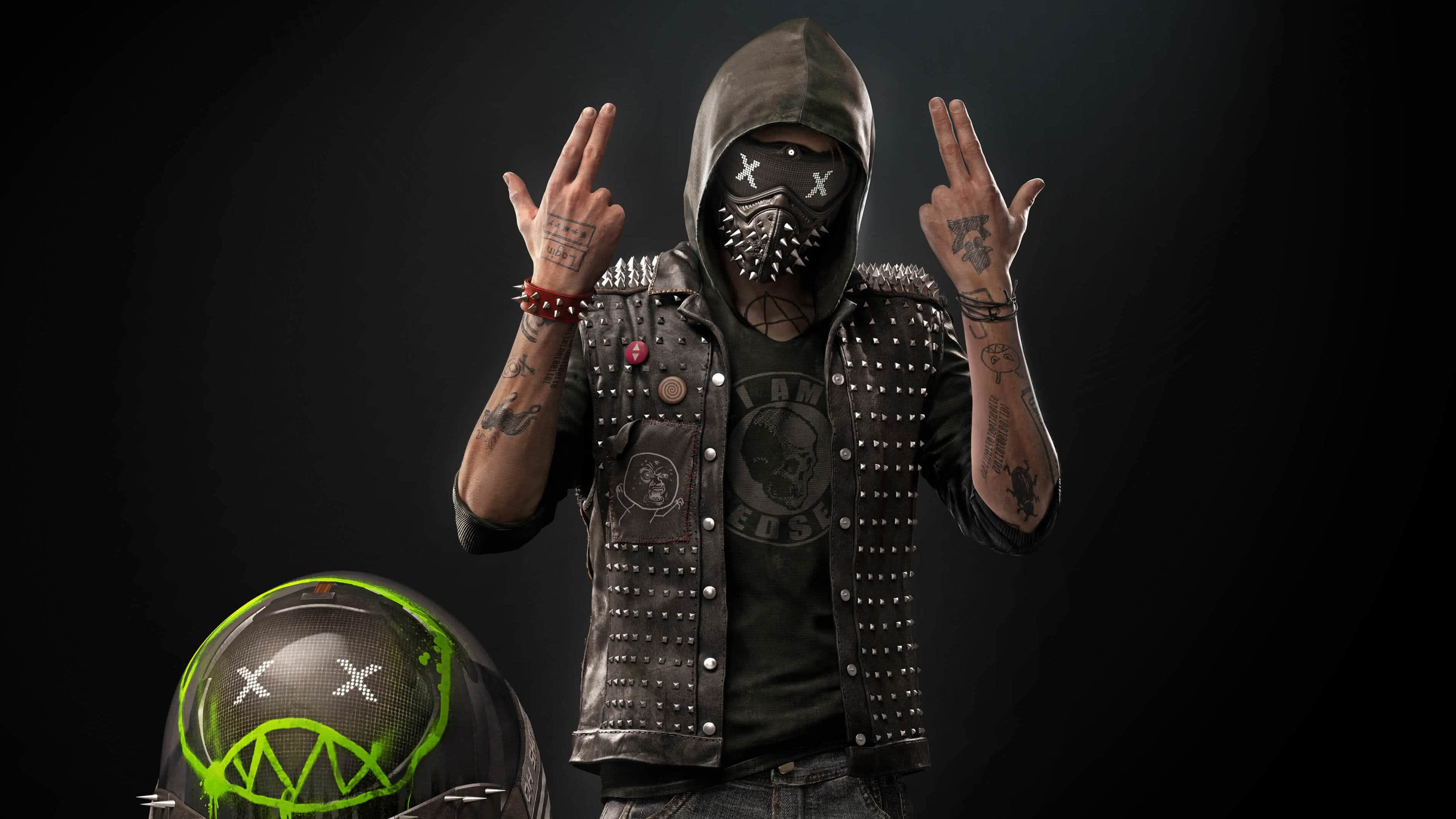 watch dogs 2 robot wrench junior uhd 4k wallpaper