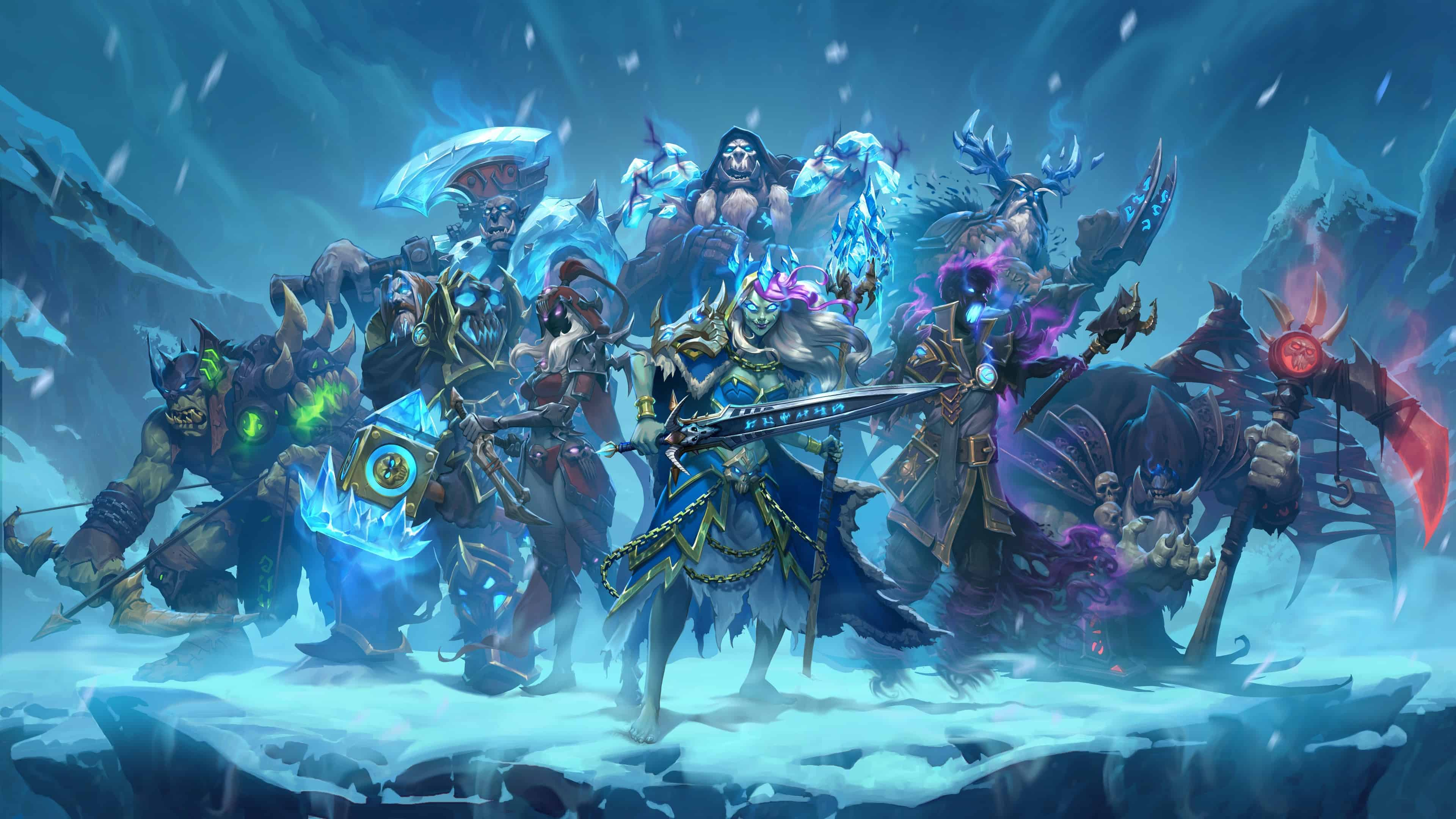 Hearthstone Knights Of The Frozen Throne Expansion Uhd 4k