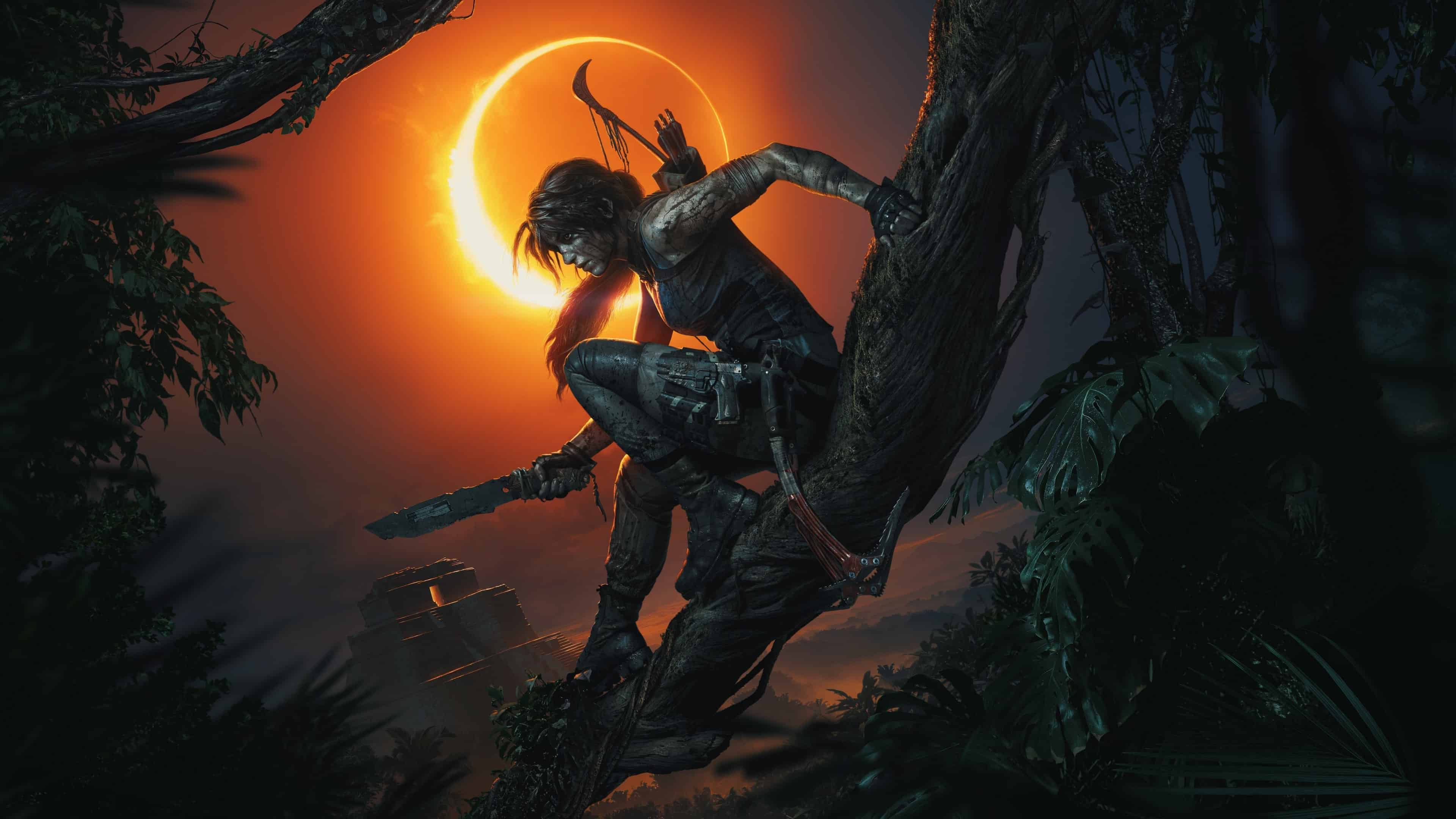 Shadow Of The Tomb Raider Lara Croft E3 Uhd 4k Wallpaper